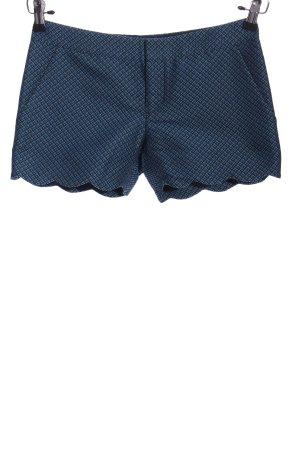 Club Monaco Shorts blau Allover-Druck Casual-Look