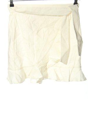 Club Monaco Wraparound Skirt natural white casual look