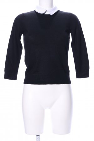 Club Monaco Wollpullover schwarz Casual-Look