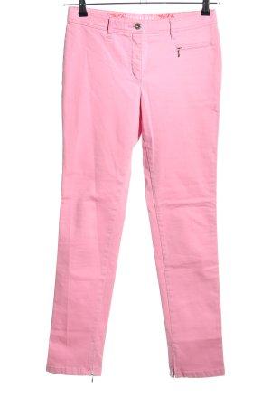 Club of Comfort Röhrenjeans pink Casual-Look