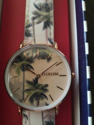 Clueless Uhr bcl10031-062, Palmen, roségold