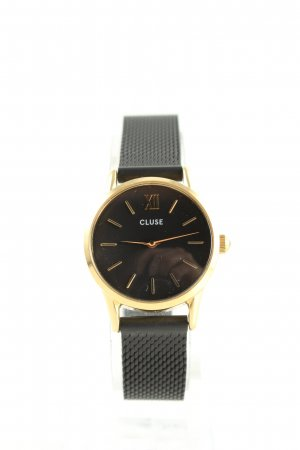 Cluse Analog Watch black-gold-colored business style