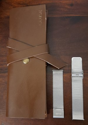 Cluse Watch With Metal Strap silver-colored