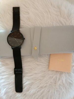 Cluse Reloj analógico negro