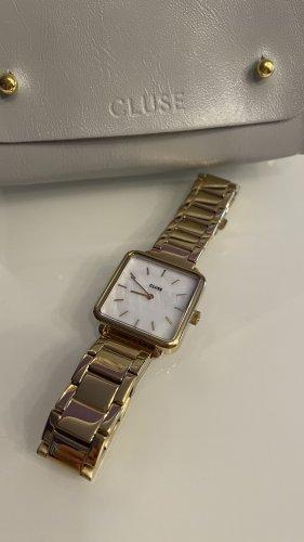Cluse Reloj con pulsera metálica color oro
