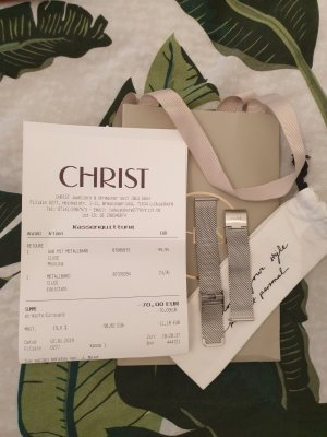 Cluse Watch With Metal Strap silver-colored-light grey