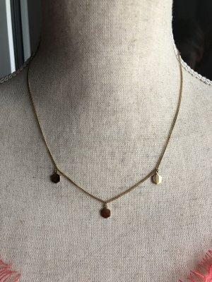 Cluse Halskette in gold, neu