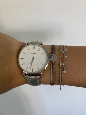 Cluse Analog Watch silver-colored
