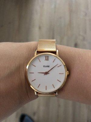 Cluse Montre avec bracelet métallique or rose