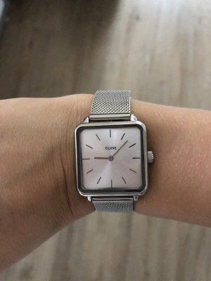 Cluse Montre avec bracelet métallique argenté
