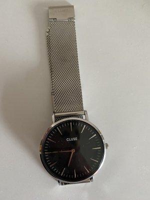 Cluse Orologio analogico nero-argento