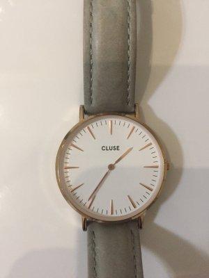 Cluse Uhr Grau rosé