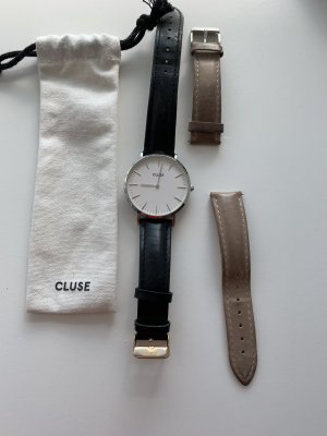 Cluse Uhr mit Lederbänder