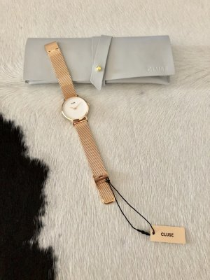 Cluse uhr neu Mode Schmuck Gold Rose Armbanduhr Accessoires