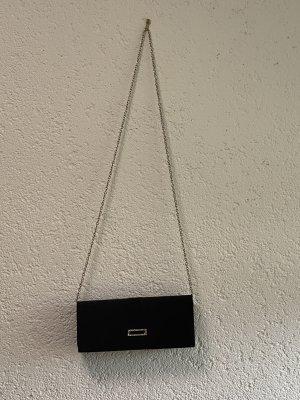 Pochette noir-argenté