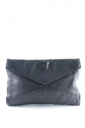 Clutch anthrazit Casual-Look