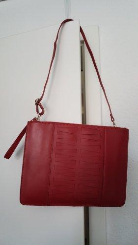 Zalando Collection Bolso de mano rojo ladrillo