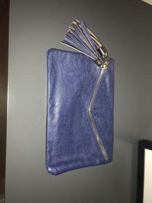 Borsa clutch blu