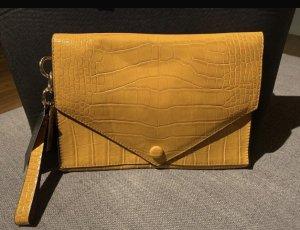 Zara Clutch goud Oranje