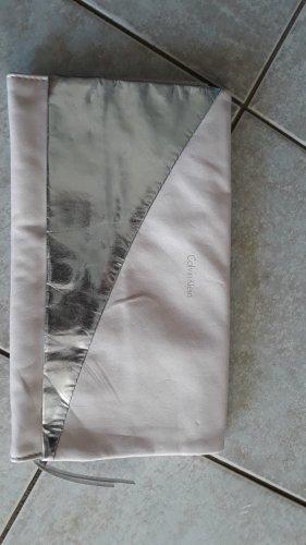 Calvin Klein Clutch zilver-lichtroze