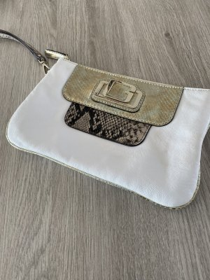 Guess Clutch wit-goud