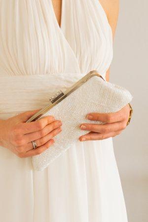 Clutch für Hochzeit, Standesamt, Abendkleid