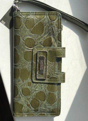Clutch Geldbörse Portemonnaie mit Henkel Kenneth Cole Neu mit Etikett