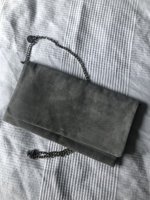 Hallhuber Clutch multicolored leather