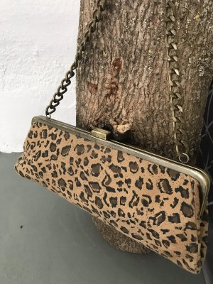 Clutch/Handtasche/Anlass/ Leopardenmuster