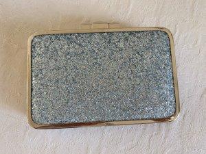 Clutch Hellblau Silber Glitzer Neu Beth Jordan Himmelblau Blau