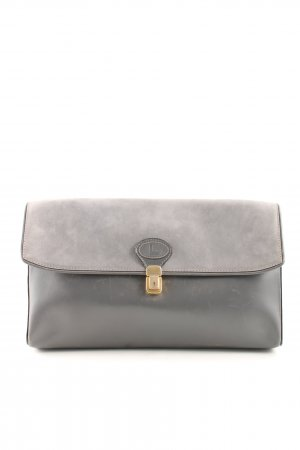 Bolso de mano gris claro estilo «business»
