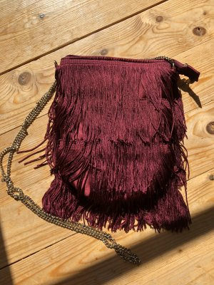 H&M Fringed Bag multicolored
