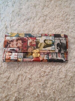 Clutch mit Vouge Cover Print