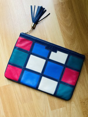 v&l Clutch multicolored leather
