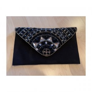 Clutch Pieces schwarz