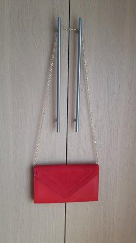 Aldo Kopertówka czerwony Tkanina z mieszanych włókien
