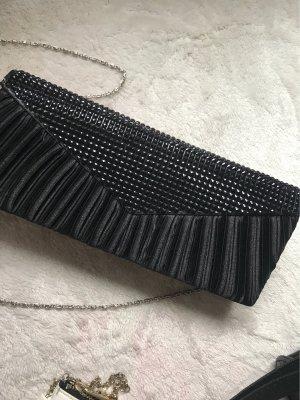 Clutch schwarz Disco Tasche