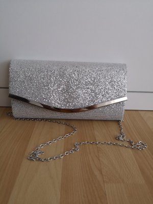 Bijou Brigitte Clutch silver-colored