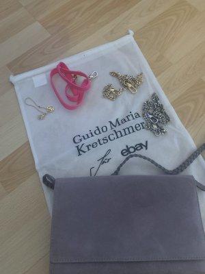 Guido Maria Kretschmer für ebay Bolso de mano gris