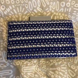 New Look Clutch blue-neon blue