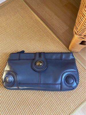 Hilfiger Denim Clutch slate-gray leather