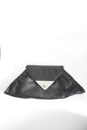 Clutch/Umhängetasche aus Leder