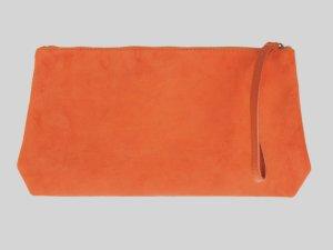Borsa clutch arancione