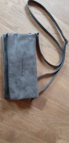 Fritzi aus preußen Clutch anthracite leather