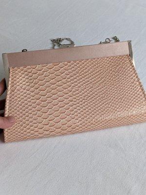 Boutique Ware Borsa clutch rosa pallido