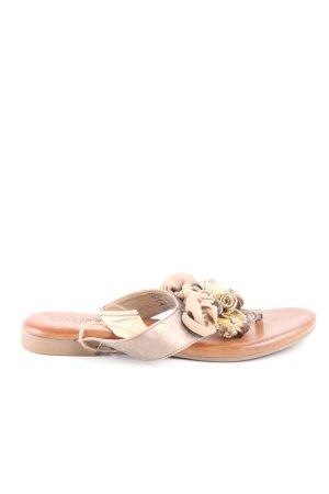 Cm Laufsteg Flip-Flop Sandals natural white casual look