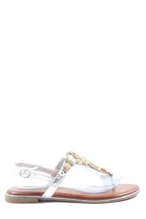 Cm Laufsteg Beach Sandals silver-colored-gold-colored elegant