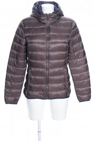 CMP Down Jacket brown quilting pattern casual look