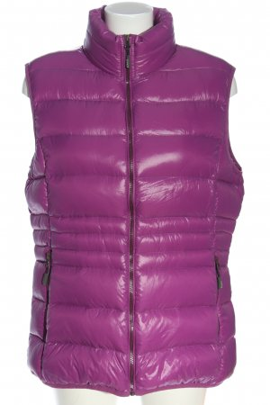 CMP Down Vest pink quilting pattern casual look