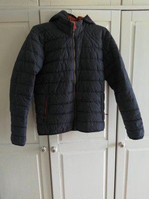 CMP Down Jacket grey-orange